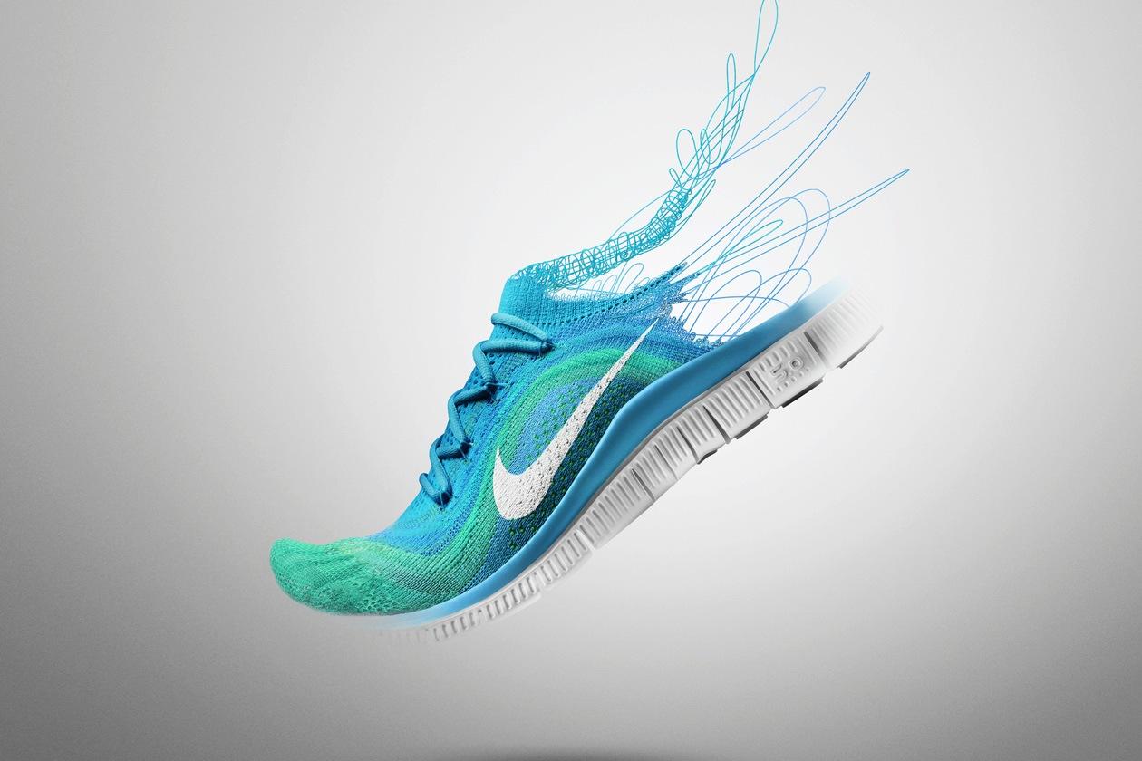 Nike Free Flyknit Womens