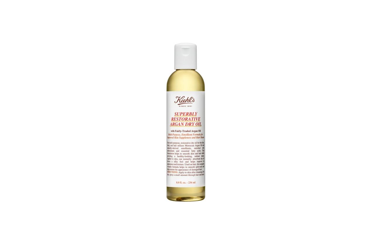 «Uso sempre l'olio per capelli di Khiel's per idratare e lucidare la chioma»