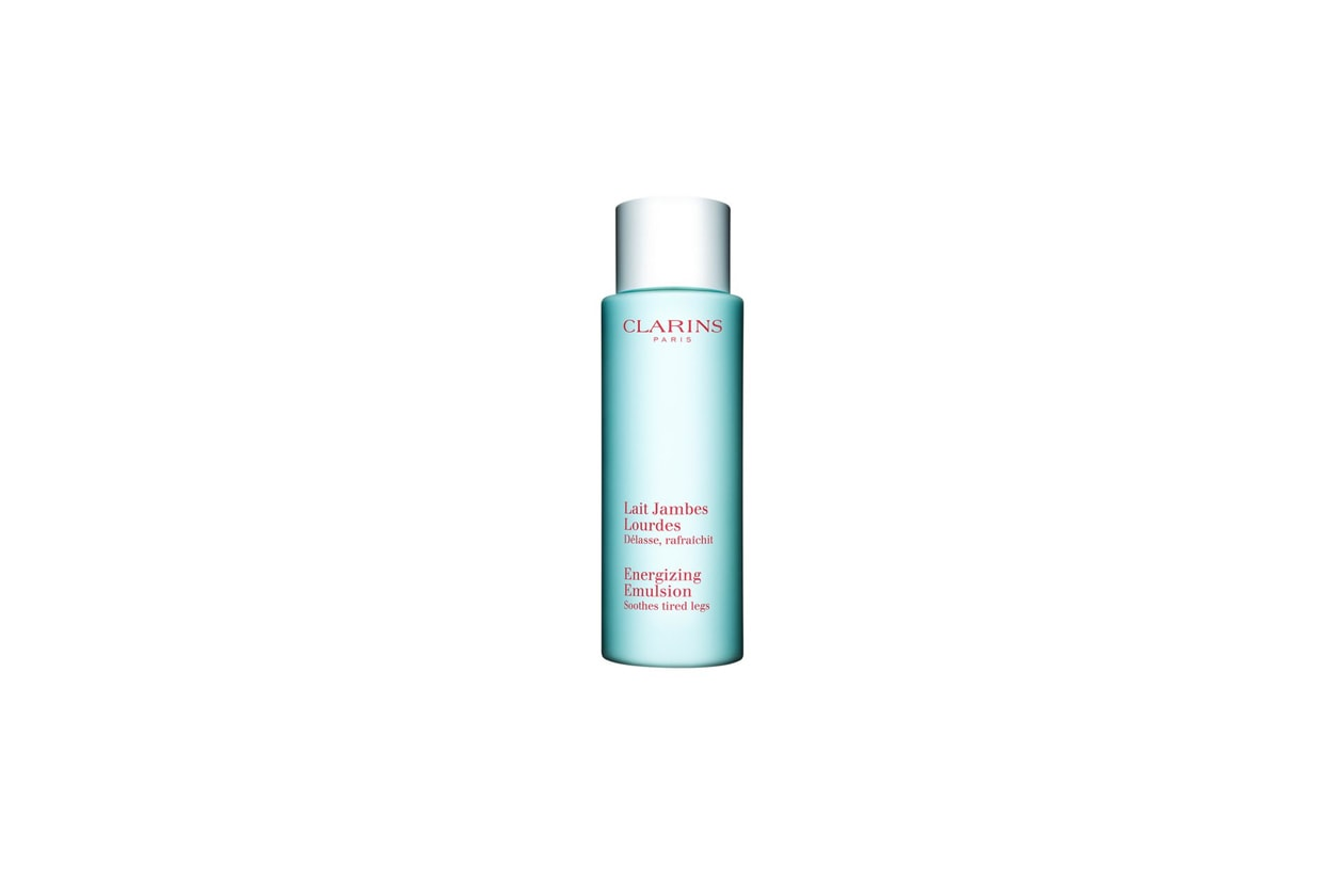 clarins energizing emulsion soothes tired legs