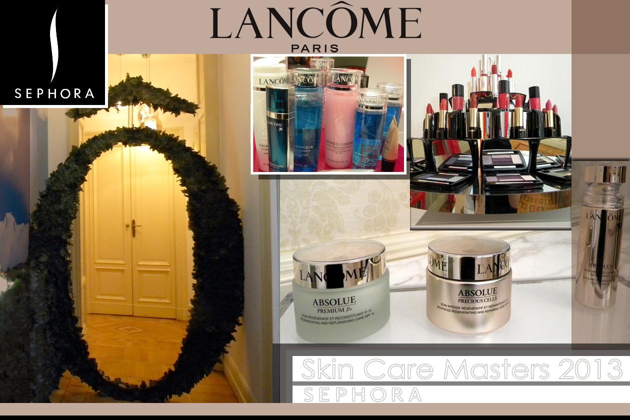 Skin Care Master 2013 Sephora by Lancôme: il viaggio alla scoperta dello skincare Lancôme