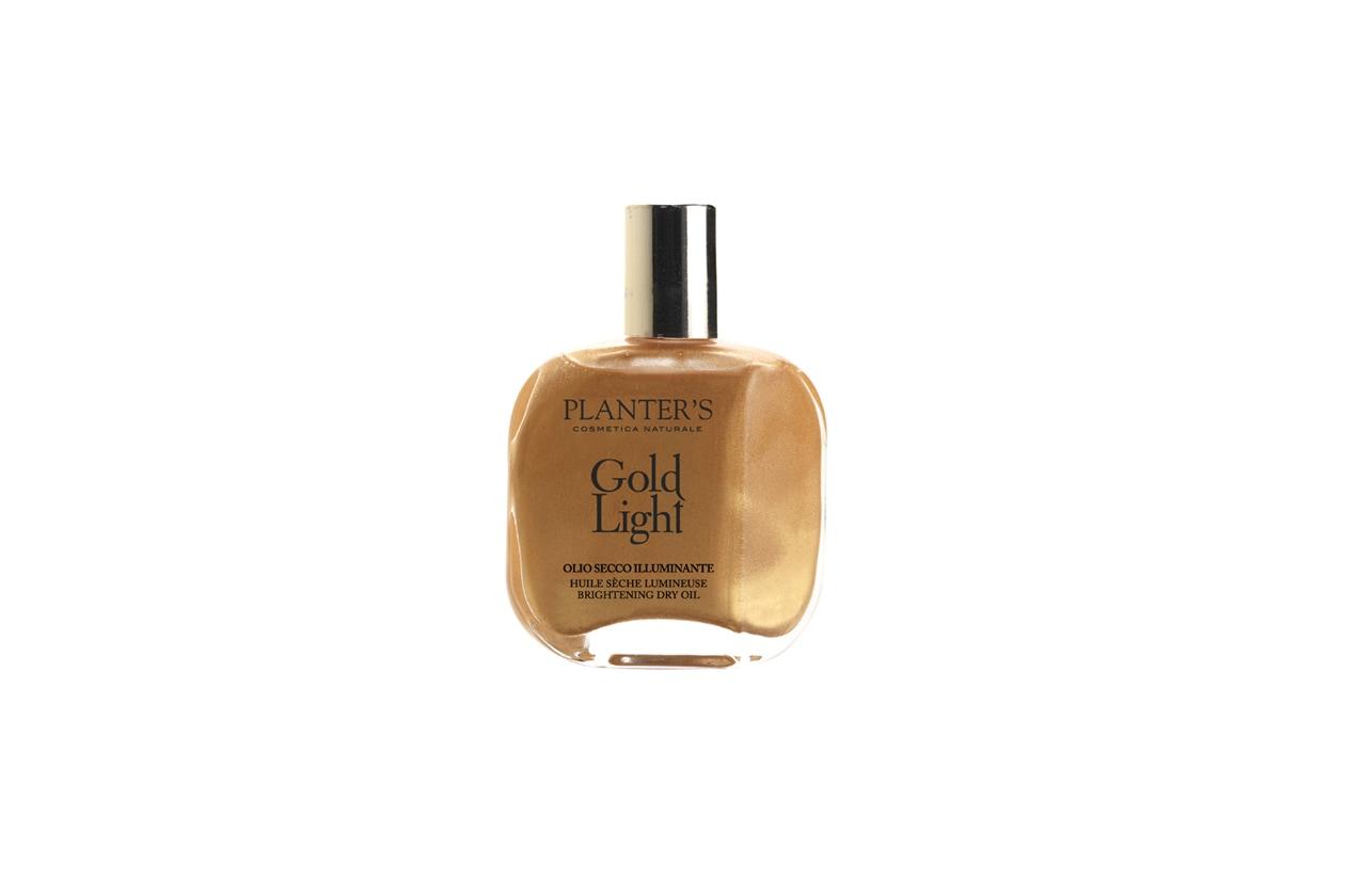 planters gold light olio corpo illuminante dorato