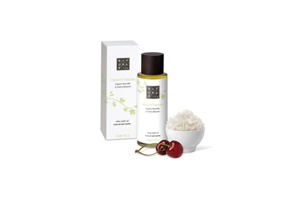rituals Hanami Heaven milky bath oil