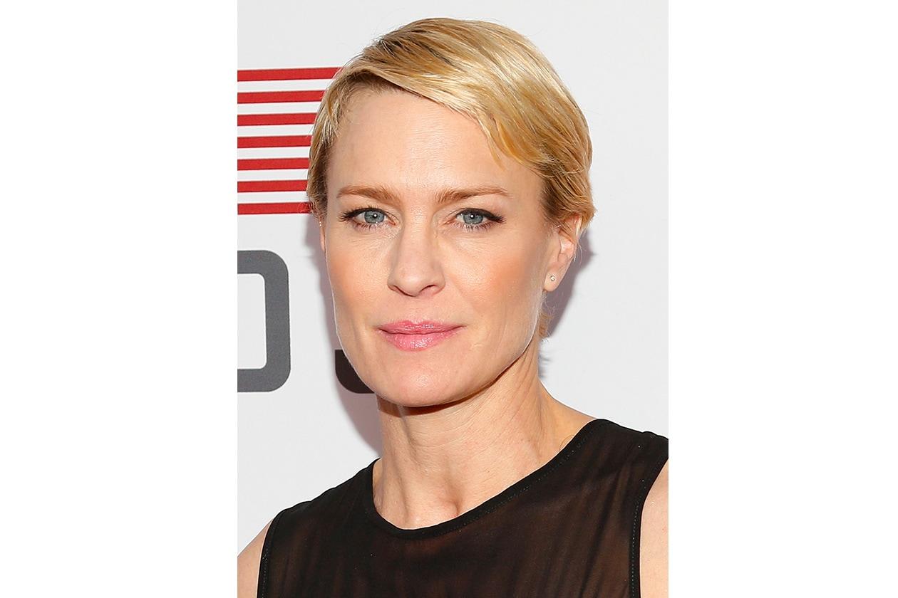 Robin Wright: dopo il divorzio con Sean Penn l'attrice ha optato per un capello cortissimo