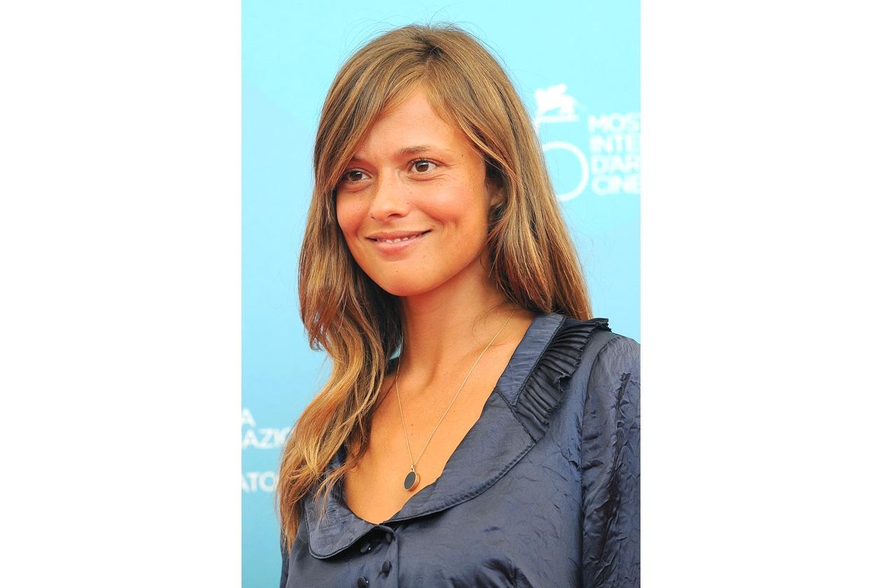 """Valeria Bilello alla presentazione del film """"Il Papa Di Giovanna"""" di Pupi Avati (2008)"""