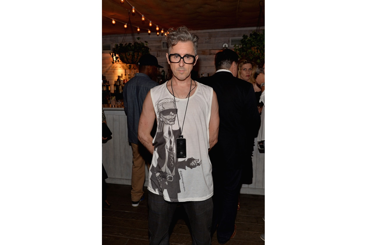 Alan Cumming attends SOHO HOUSE NEW YORK's 10 Year Birthday on the Roof