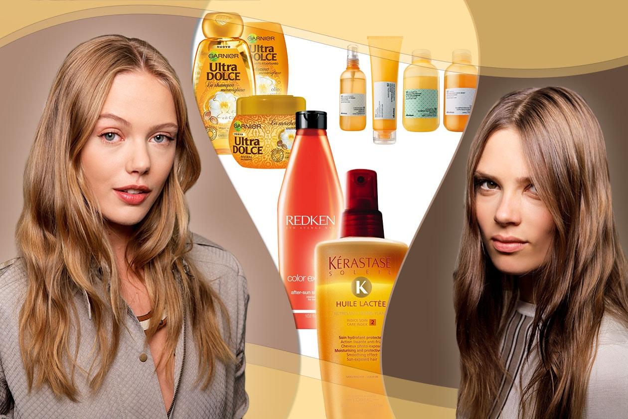 Beauty Capelli sole pre e post 00 Cover collage