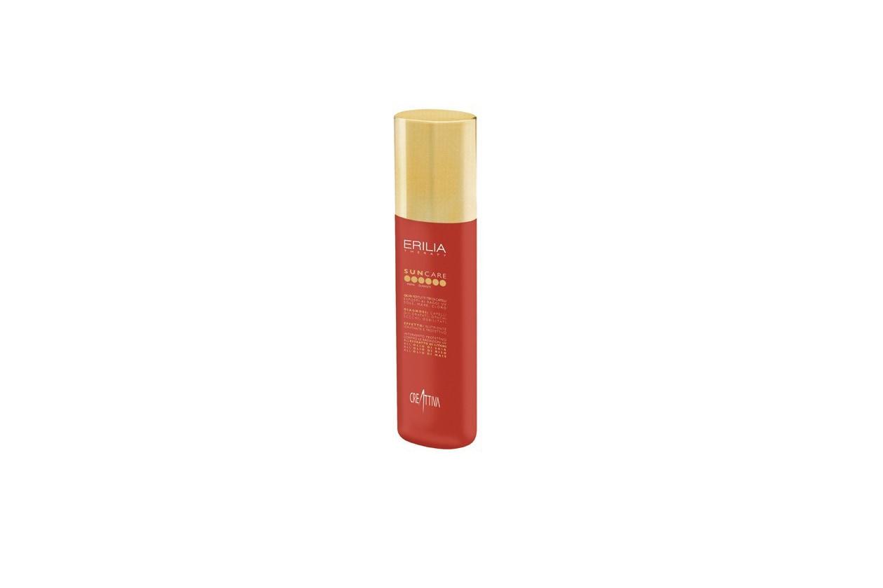 Beauty Capelli sole pre e post Erilia Sun Care Olio Spray protettivo