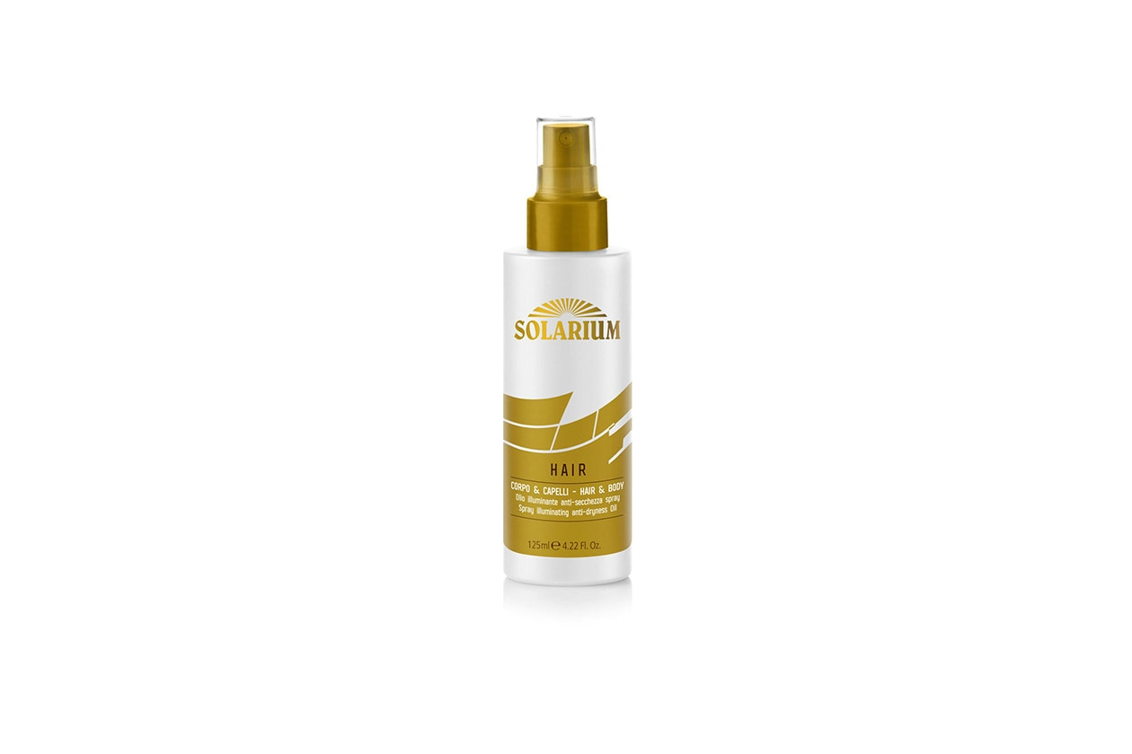 Beauty Capelli sole pre e post Solarium Hair Olio illuminante
