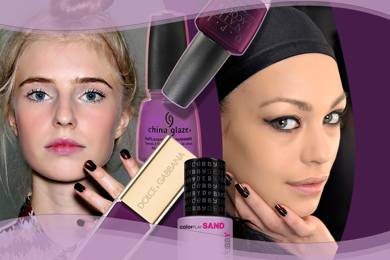 Beauty Purple Nails 00 Cover Collage