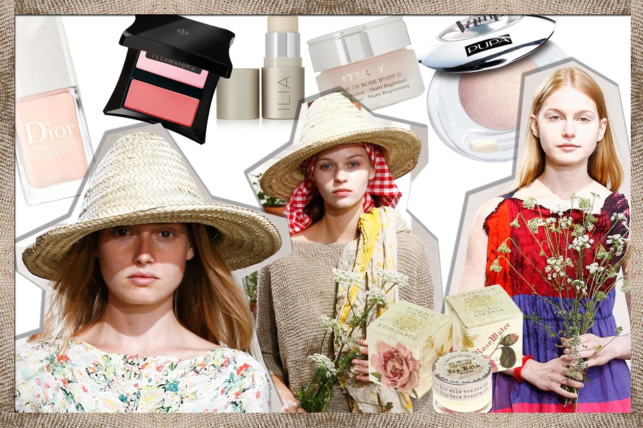 COVER makeup countryside