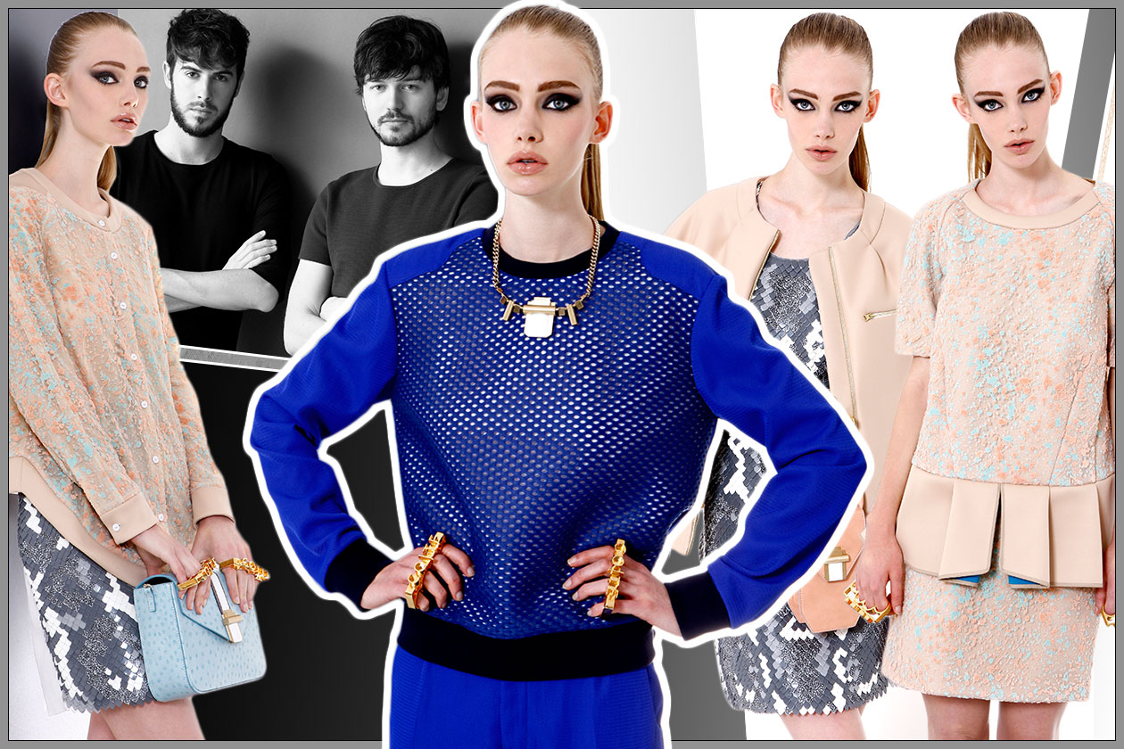 Fashion COTE PRE2pe 2014 Cover collage