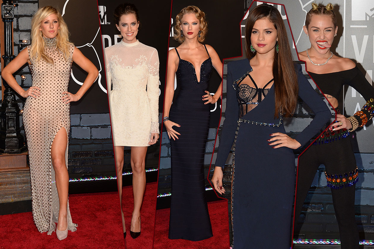 Fashion MTV Video Music Awards Cover collage