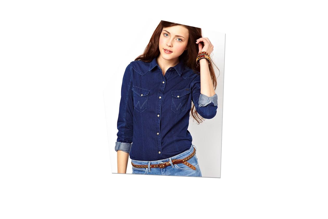 Fashion Top List On the road asos denim shirt