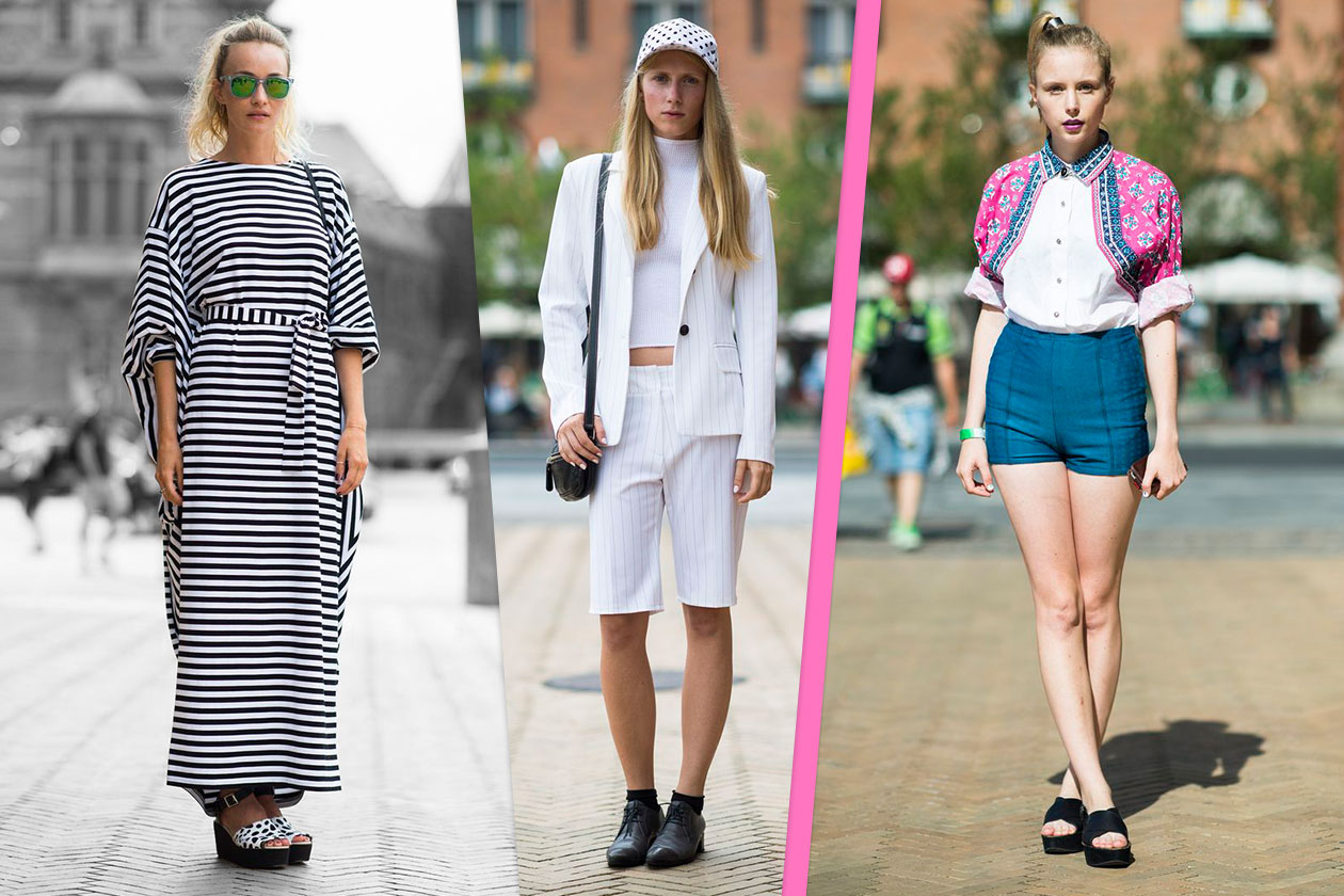 Fashion streetstyle Cover collage