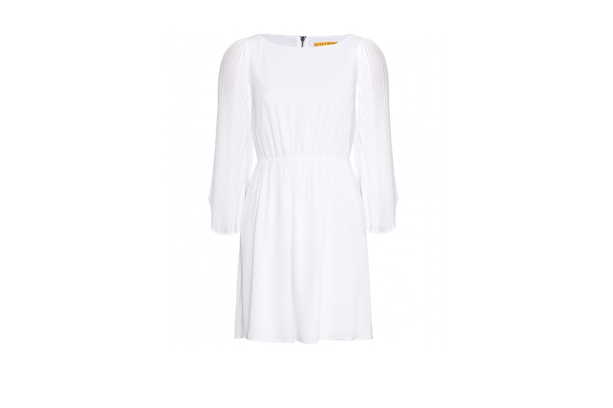 Fashion top list Little White dress AliceOlivia