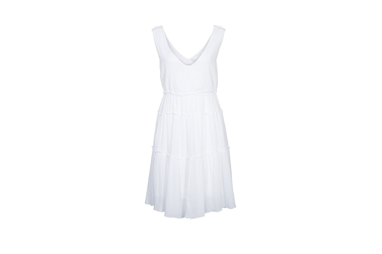 Fashion top list Little White dress Benetton