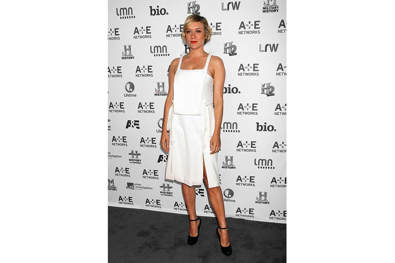 Fashion top list Little White dress Chloe Sevigny