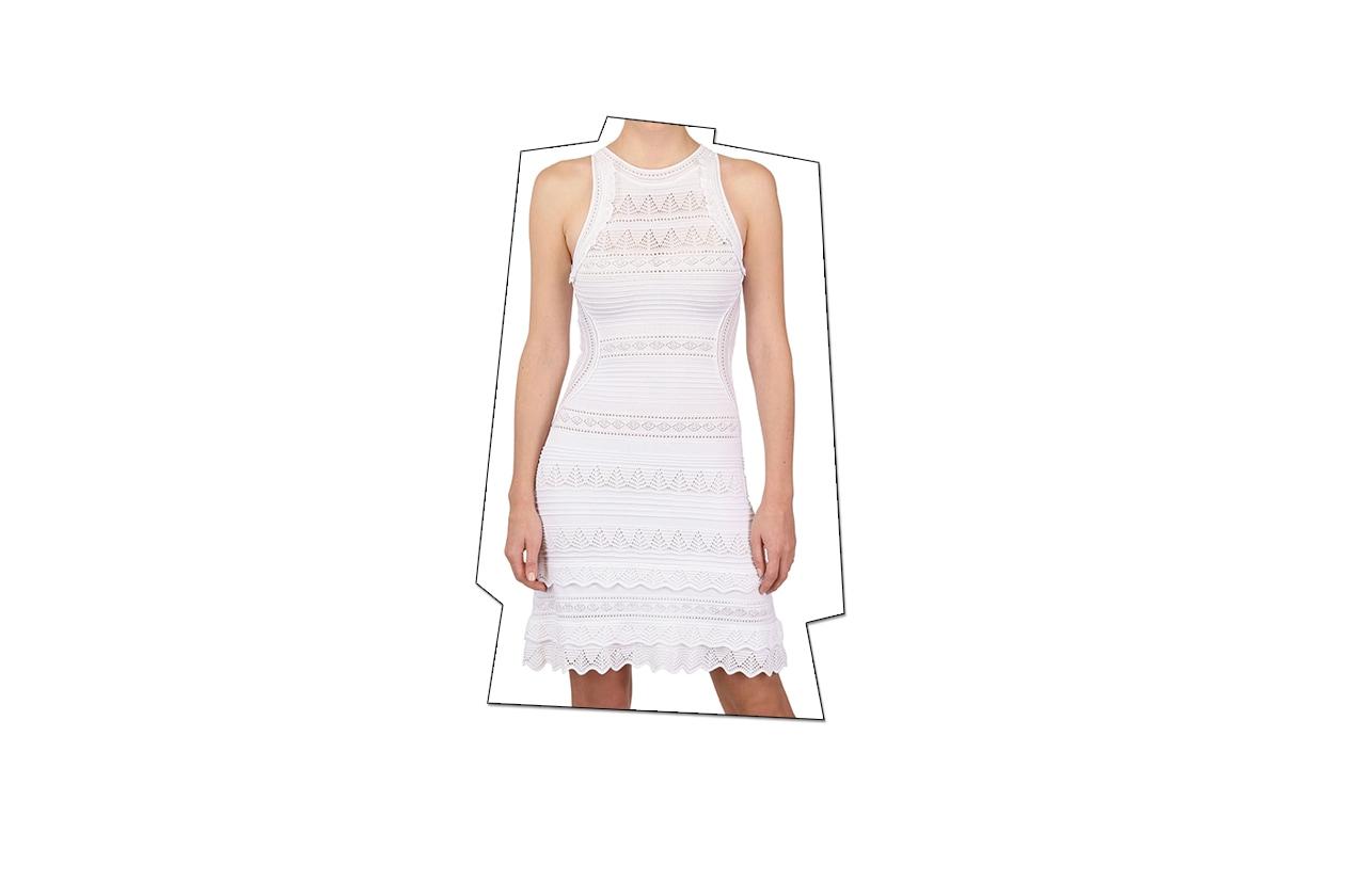 Fashion top list Little White dress Roberto Cavalli