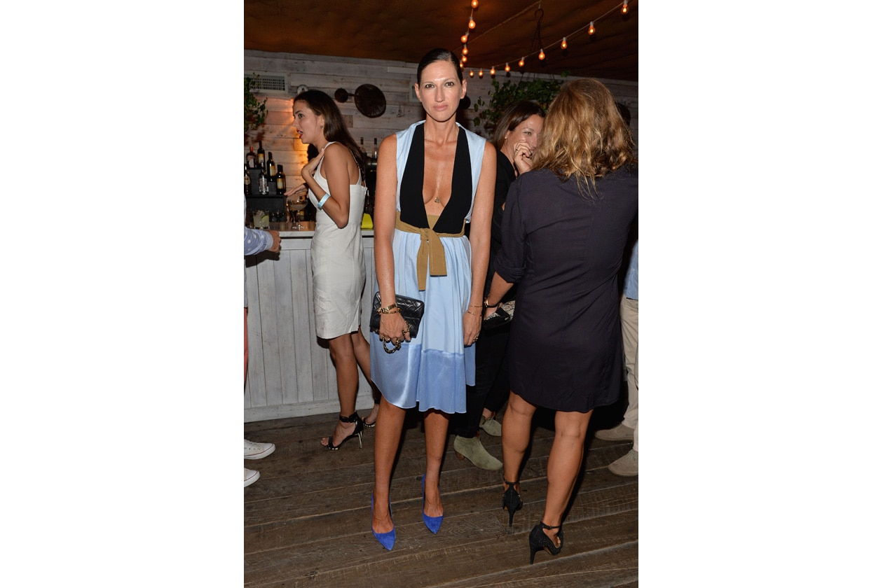 Jenna Lyons attends SOHO HOUSE NEW YORK's 10 Year Birthday on the Roof