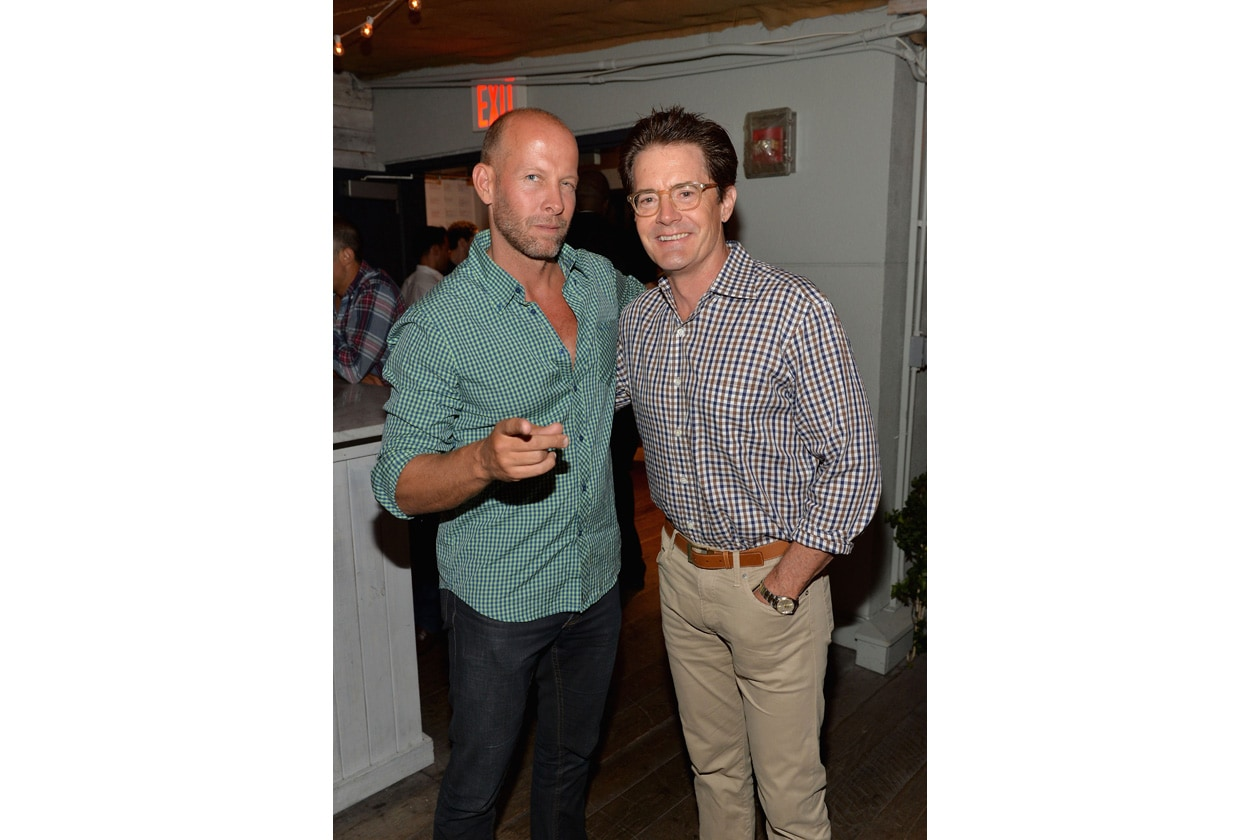 Kyle MacLachlan attends SOHO HOUSE NEW YORK's 10 Year Birthday on the Roof