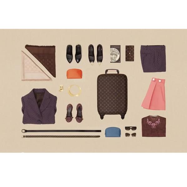 Louis Vuitton e l'arte di fare i bagagli