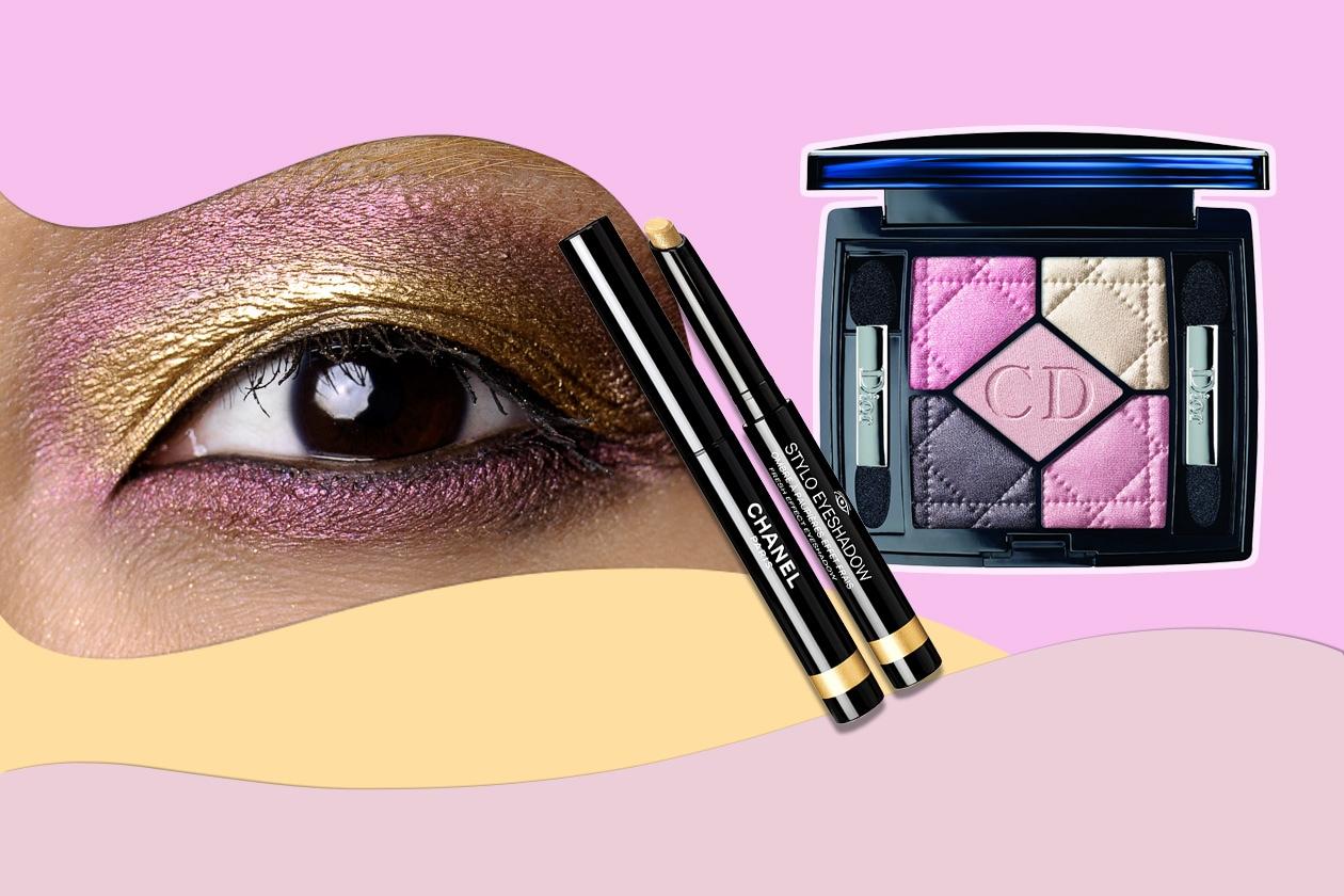 MILLE SFUMATURE DI PETALI DORATI: il make up pensato per le pink addicted (Louis Vuitton – Dior – Chanel)