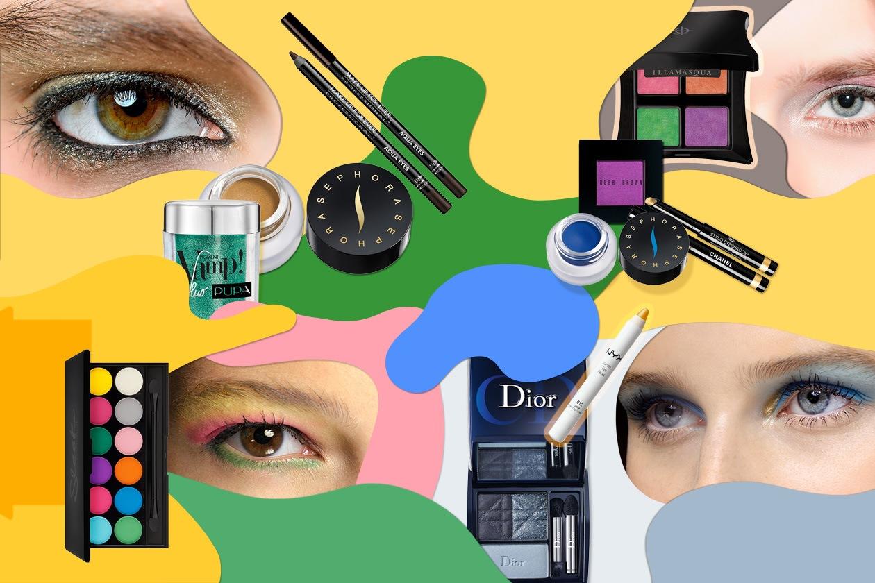 Make up d'estate: occhi dai mille colori grazie a polveri shimmer o matt dall'effetto esplosivo. I consigli di Grazia.IT