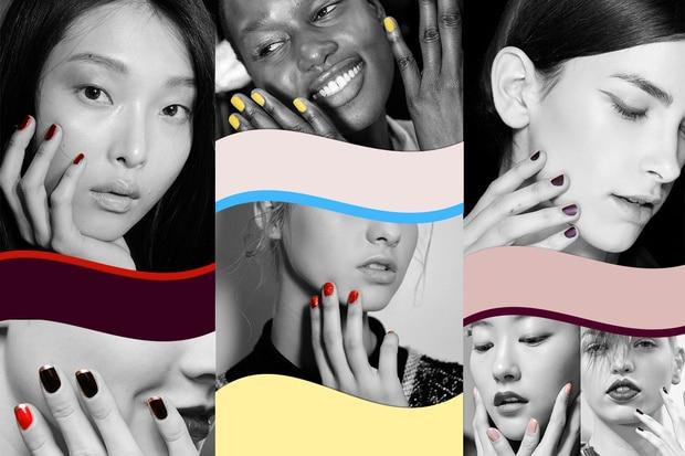 Metal o nude, rosse o nere, nail art multicolor: tutte le tendenze unghie per l'autunno