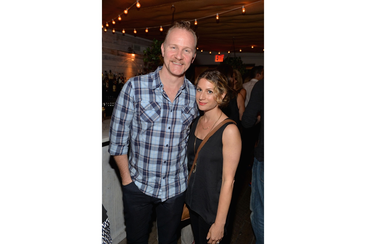 Morgan Spurlock attends SOHO HOUSE NEW YORK's 10 Year Birthday on the Roof