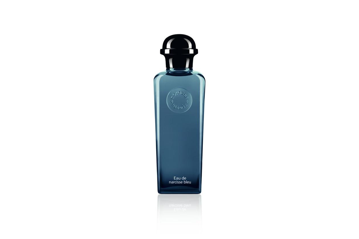 UN TOCCO DI FRESCHEZZA: l'Eau de Narcisse Bleu di Hermès mixa la nota densa del narciso con un delicato accordo boisé