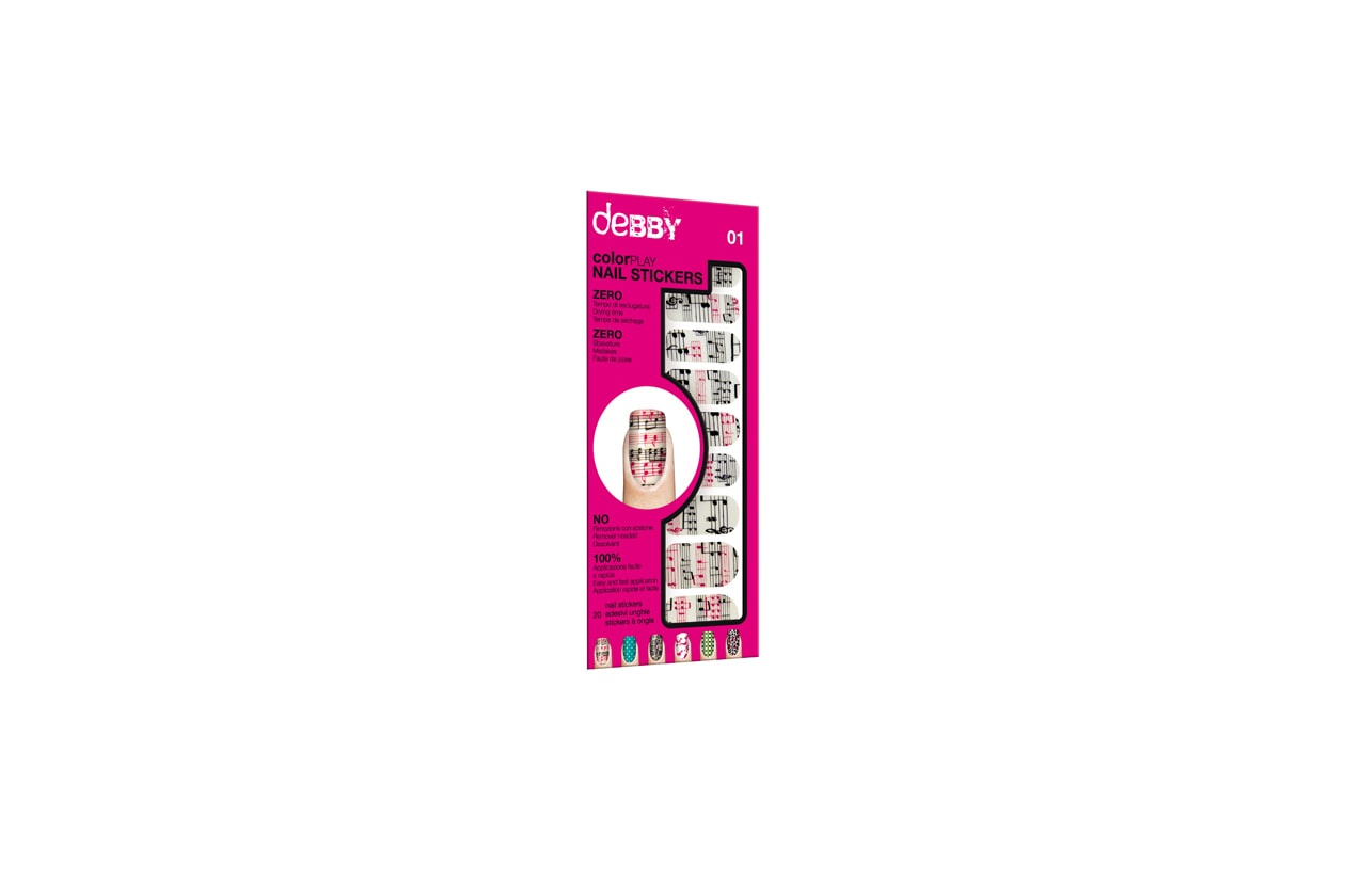 debby nail stickers