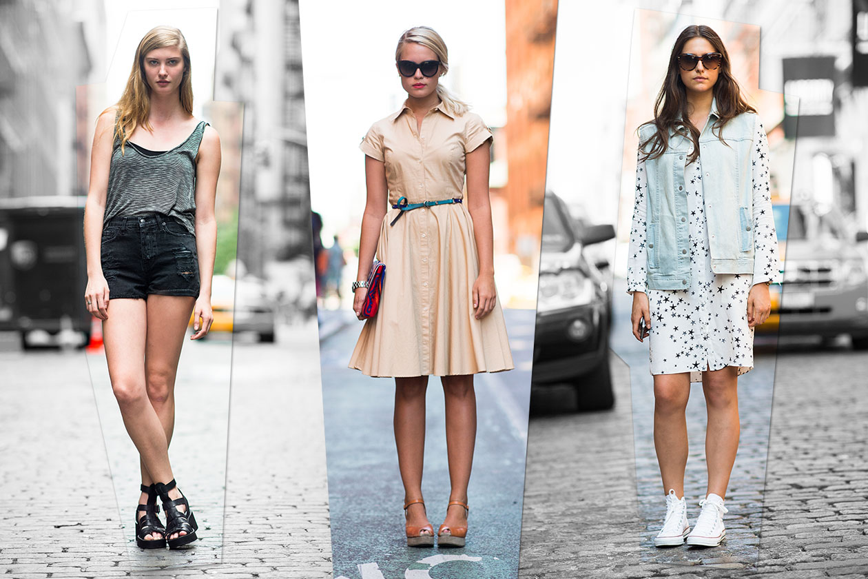 Street style: summer look in New York