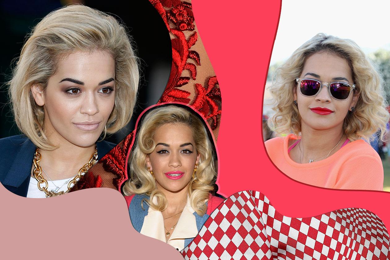 Riccia e bionda, Rita Ora non teme la ricrescita. E ne fa una questione di stile. I migliori hair look della nuova icona glam del brit rock