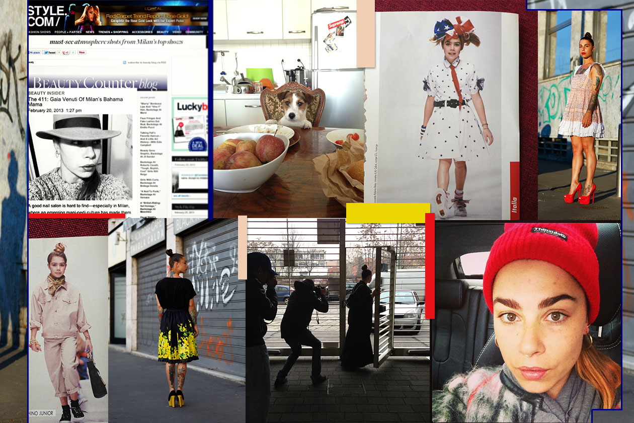 00 Gaia Venuti it girl style Cover Collage
