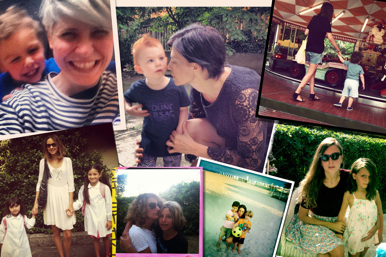 1 Tutti in classe Collage Instagram