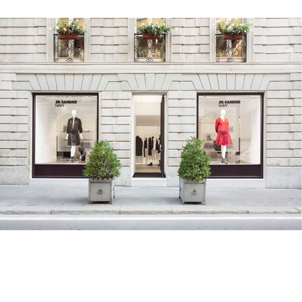 JIl Sander NAVY: l'opening a Milano