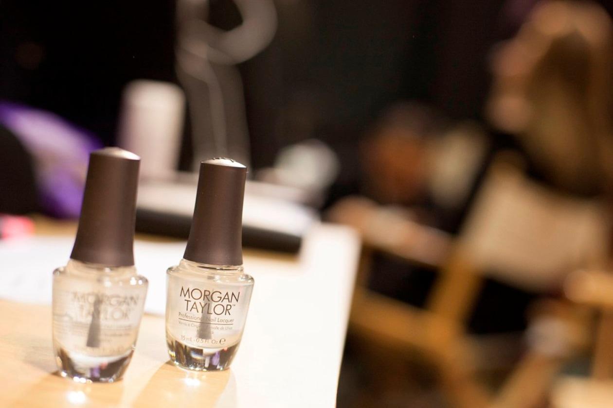 2. Il brand Morgan Taylor amato dai nail artist, ha debuttato alla scorsa Milano Fashion Week