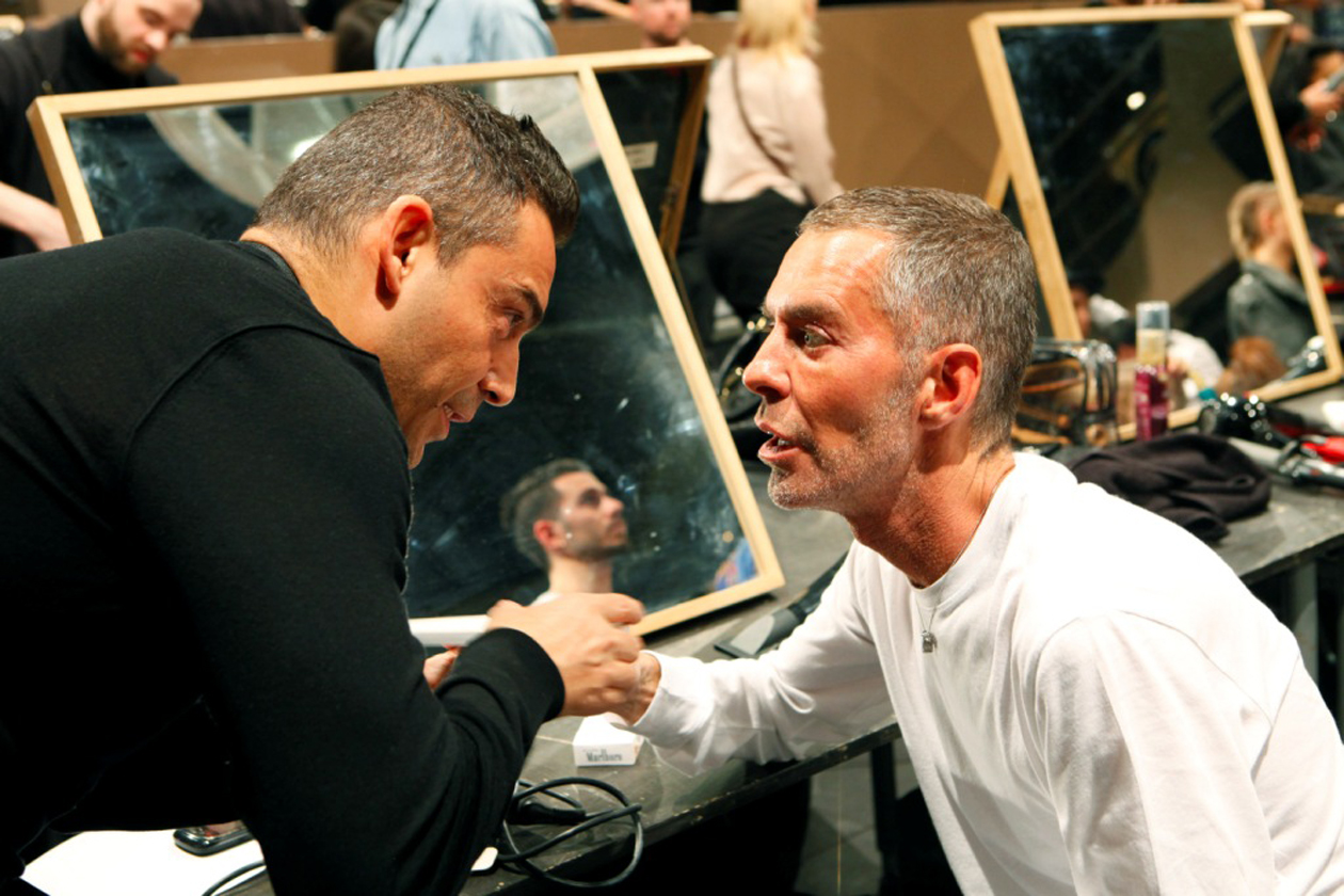 3. Antonio Sacripante nei Backstage DSQUARED2