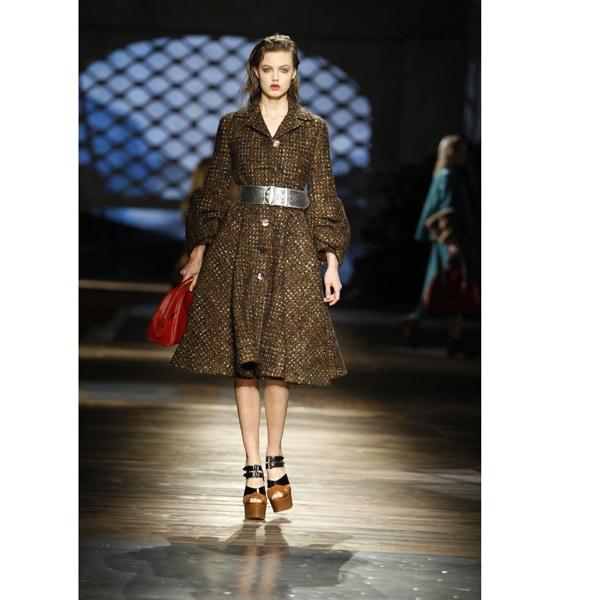 Il Felted Tweed di Prada per l'inverno 2013