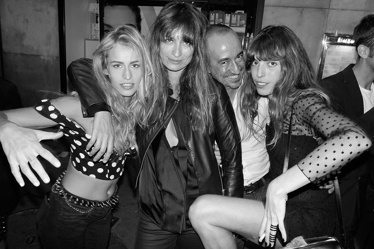 Alice Dellal + Caroline de Maigret + Saif + Lou Doillon