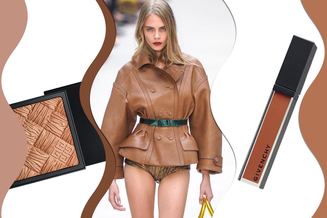 BROWN&BRONZER: marrone e bronzo, una coppia evergreen (Burberry – Givenchy)