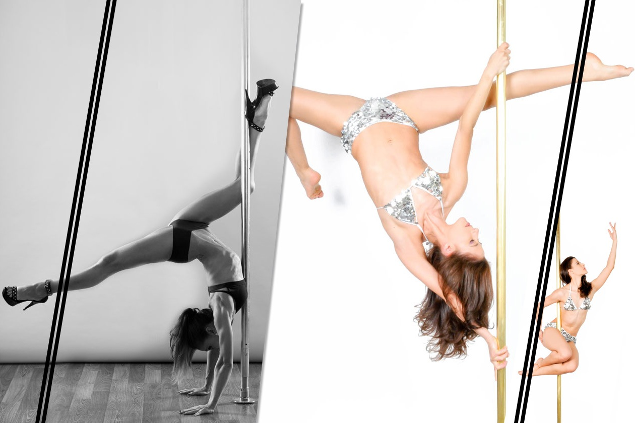 Beauty Fitness Pole dance 00 Cover collage
