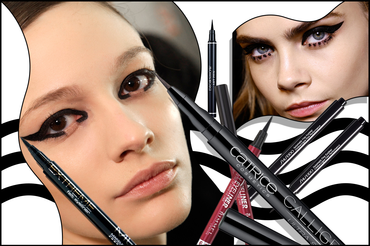 Beauty eyeliner pennarello Cover collage