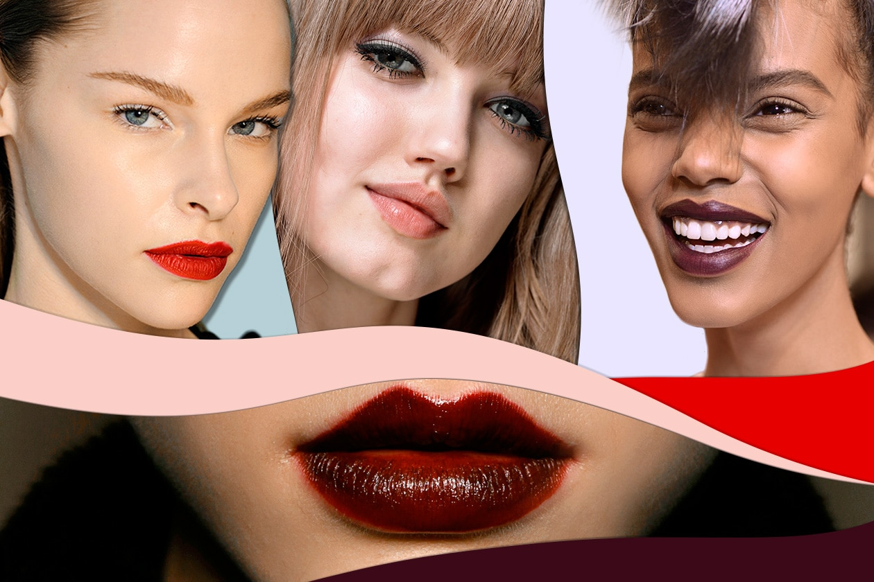 Beauty trend labbra A I 2013 Cover collage