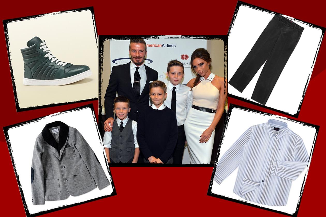 Beckham collage backham
