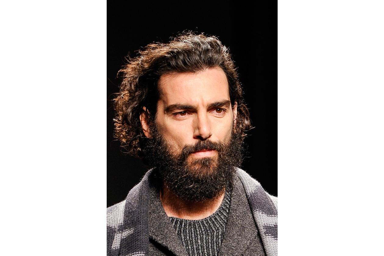 Binomio sexy: riccio e barba (Missoni)
