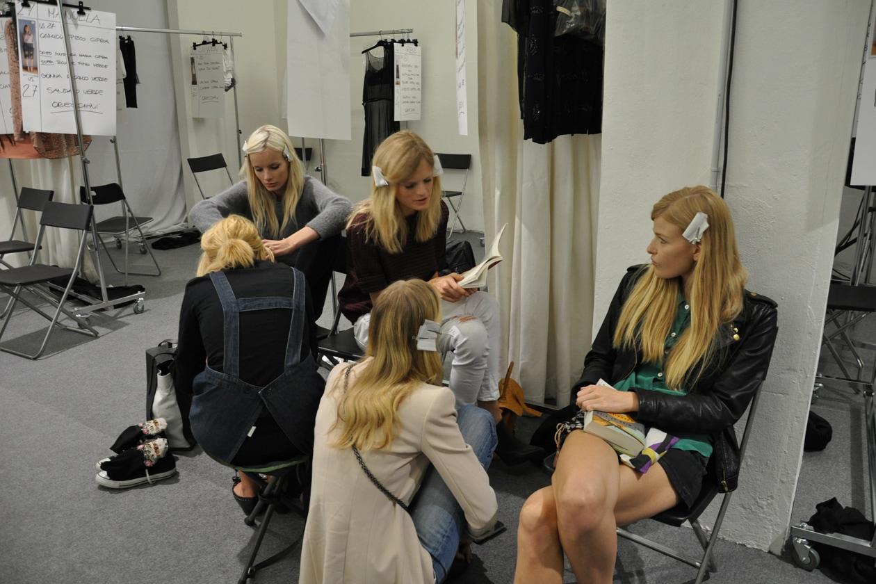 Blond hair per le modelle di Alessandro Dell'Acqua