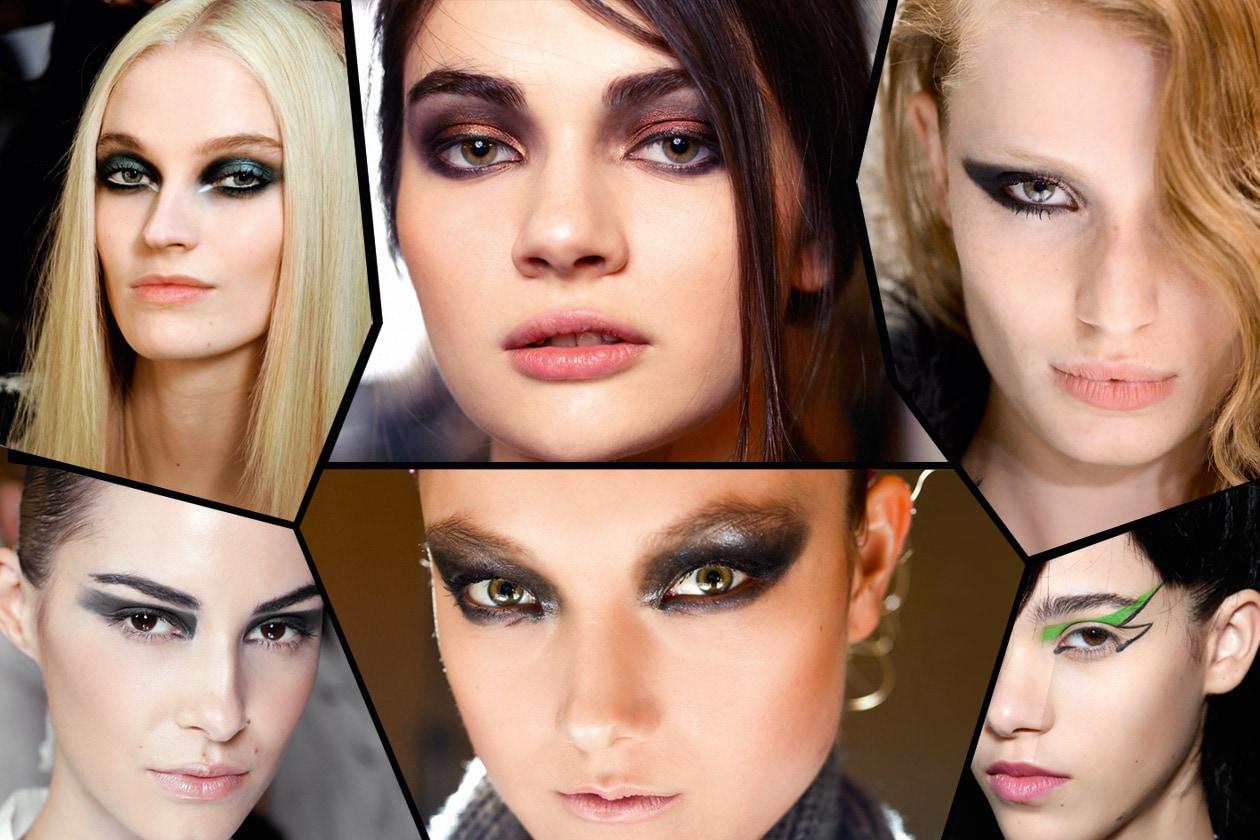 Make up occhi: tutti i trend per la stagione invernale direttamente dalle sfilate