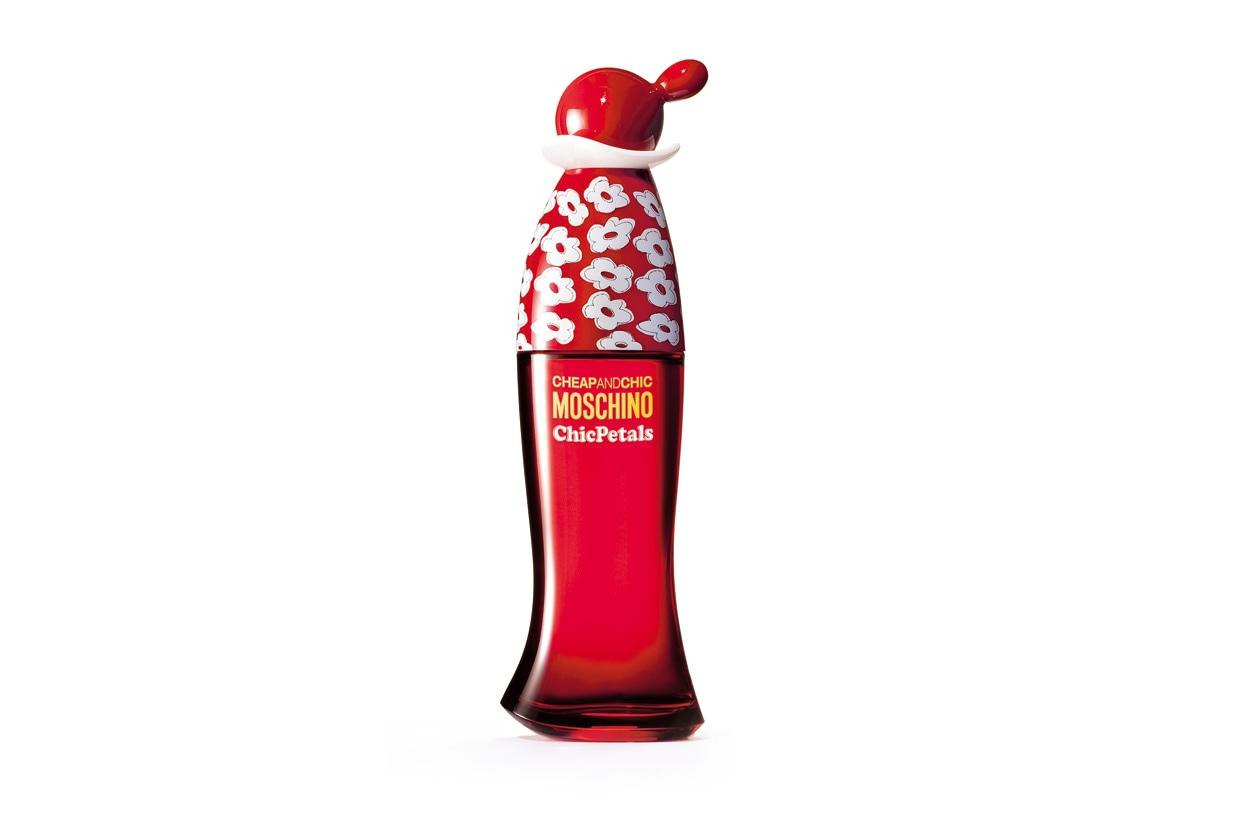 ESPLOSIONE FLOREALE: Chic Petals di Moschino Cheap And Chic ha un carattere frizzante grazie al melograno, alla fragolina e allo zenzero rosso