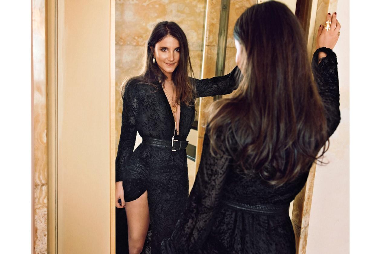 Fashion Style Icon Ilaria Norsa lucky magazine usa BY MARC HOM